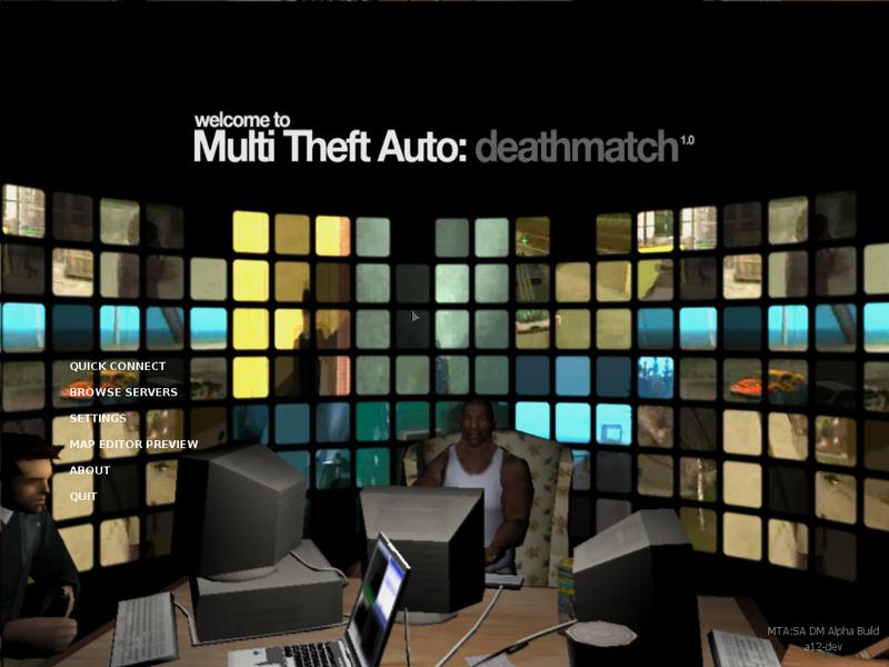 Multi theft auto: san andreas download.