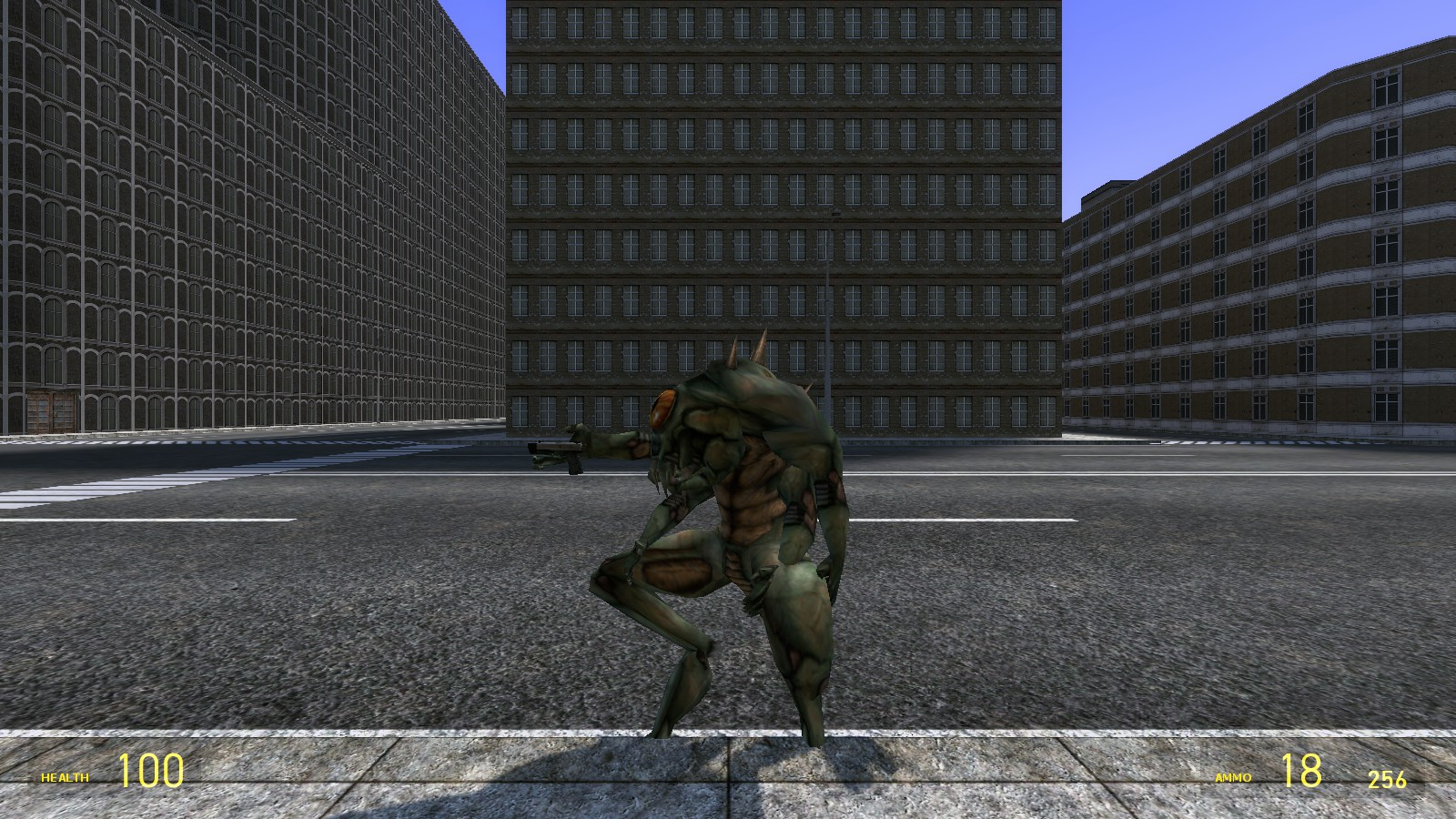 Vortigaunt + OP4 Shock Trooper Playermodel addon - Garrys