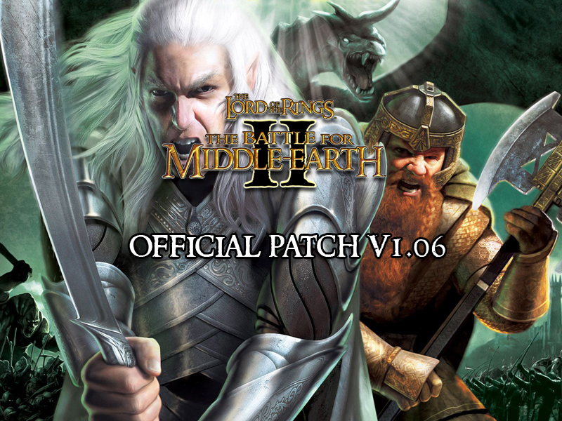 Battle for middle earth ii patch 1. 09 is now live battle for.