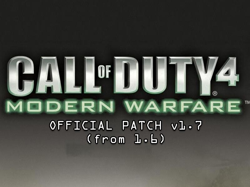 Call of duty 4 modern warfare english language files