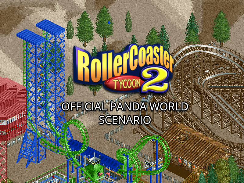 RollerCoaster Tycoon 2 Panda World Scenario addon - Mod DB