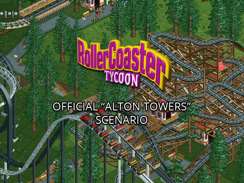 RollerCoaster Tycoon Alton Towers Scenario addon - Mod DB