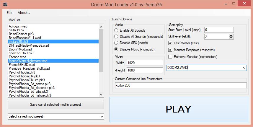 Doom Mod Loader file - ZDoom - Mod DB