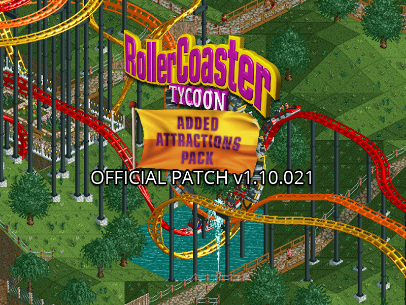 Rollercoaster Loopy Landscapes Patch