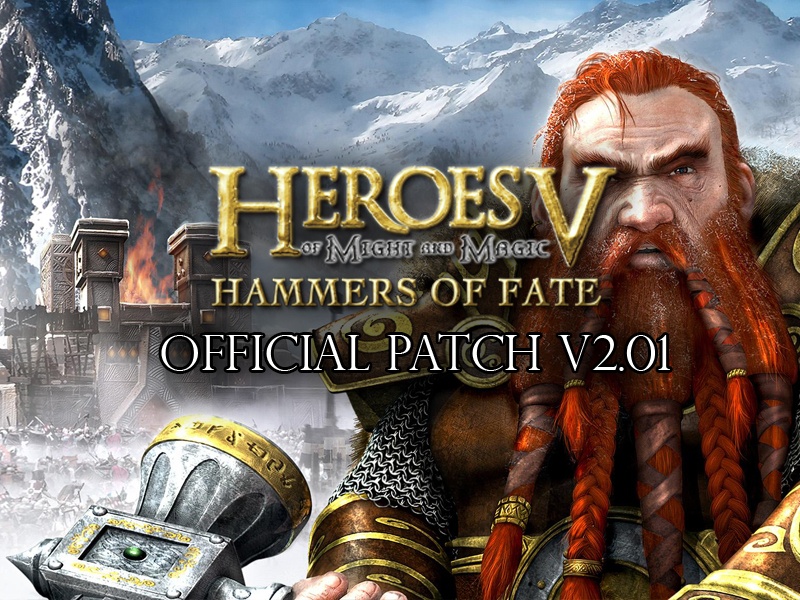Heroes of might and magic 5: hammers of fate v2. 01 [all] no-dvd.