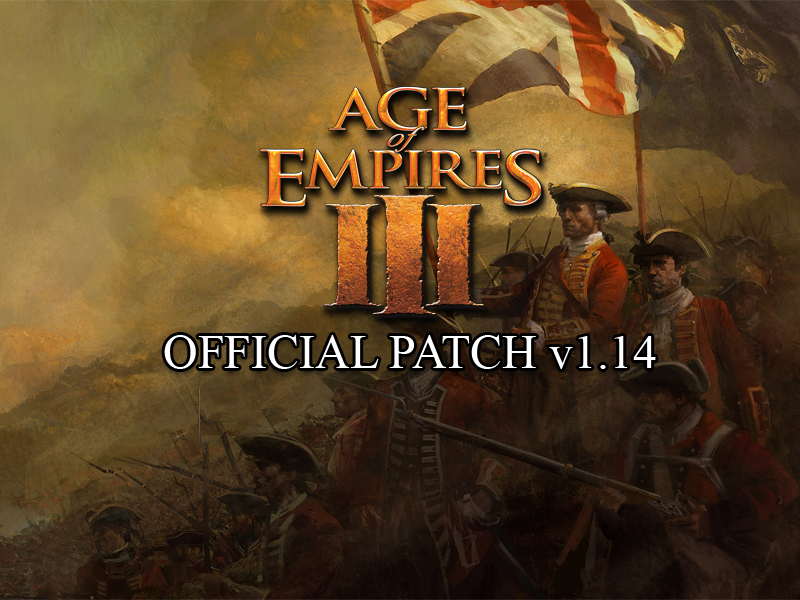 Age of empires iii v1. 14 russian patch file mod db.