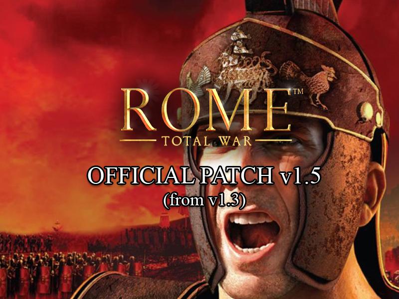 скачать английский патч для рим тотал вар 1.5