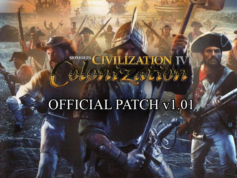 Civilization iv colonization v101f patch file mod db civilization iv colonization v101f patch sciox Choice Image