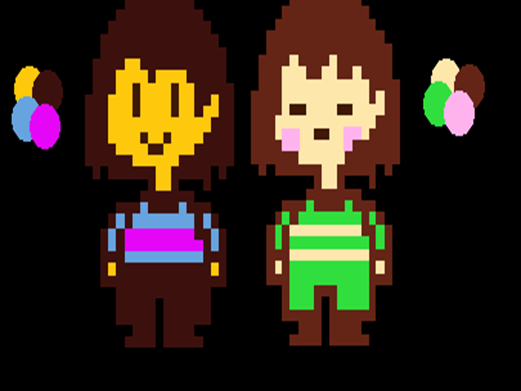 Undertale Frisk And Chara Color Swap 2 0 File Mod Db