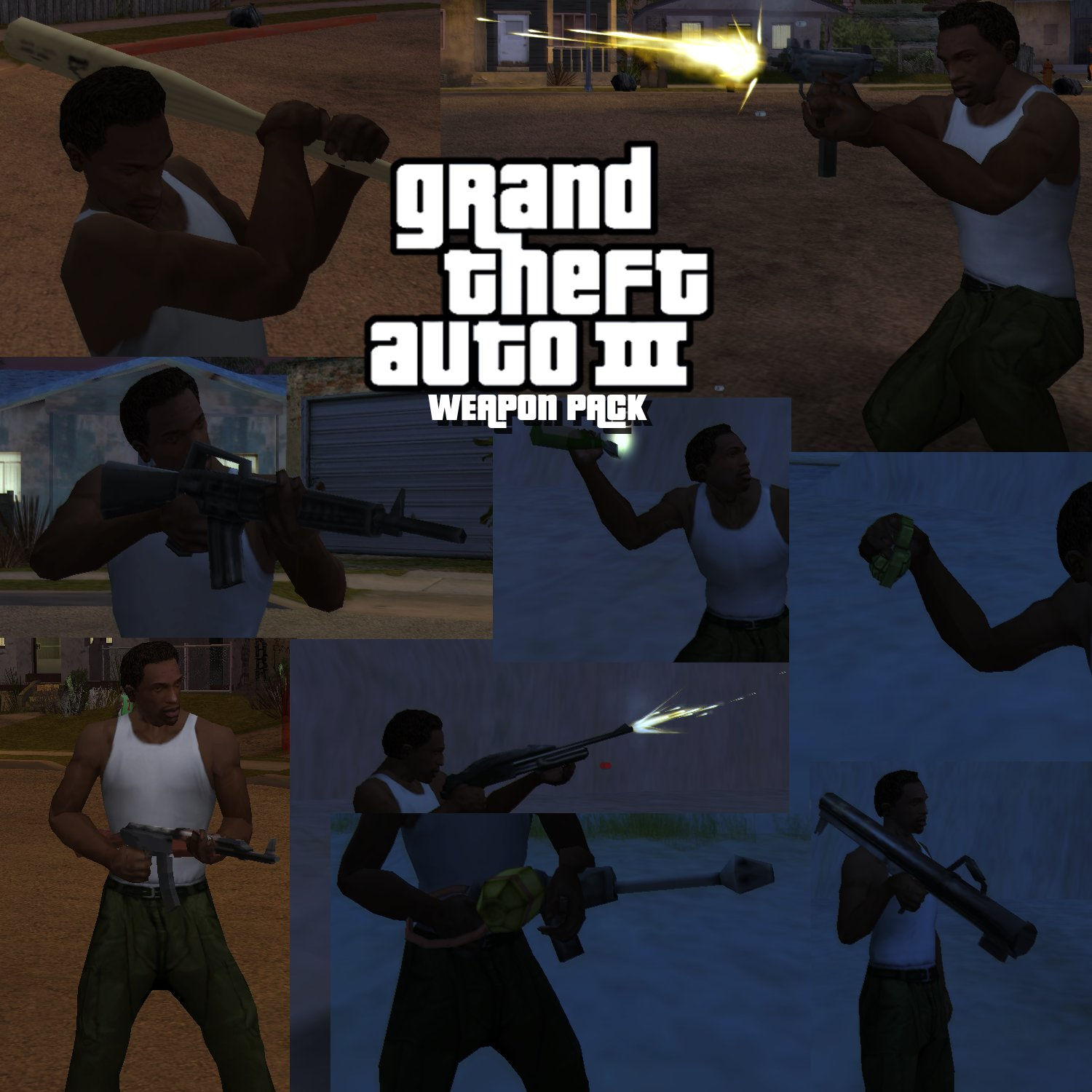 Gta Vc Skins Pack Bmp: Grand Theft Auto: San Andreas