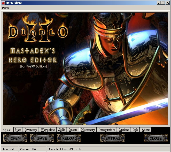 Hero Editor V 1 04 - Final file - Diablo II: Lord of