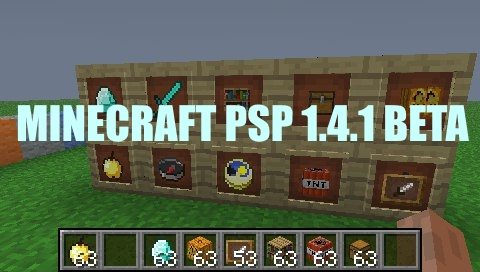 minecraft pe for psp free download