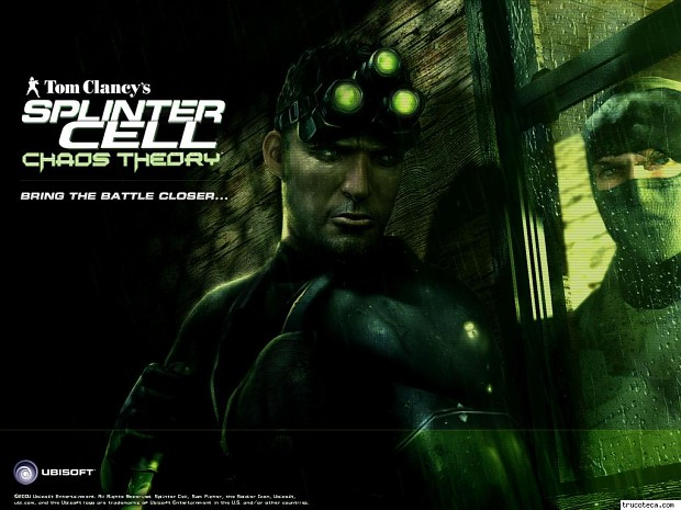 Tom clancys splinter cell chaos theory win7 patch