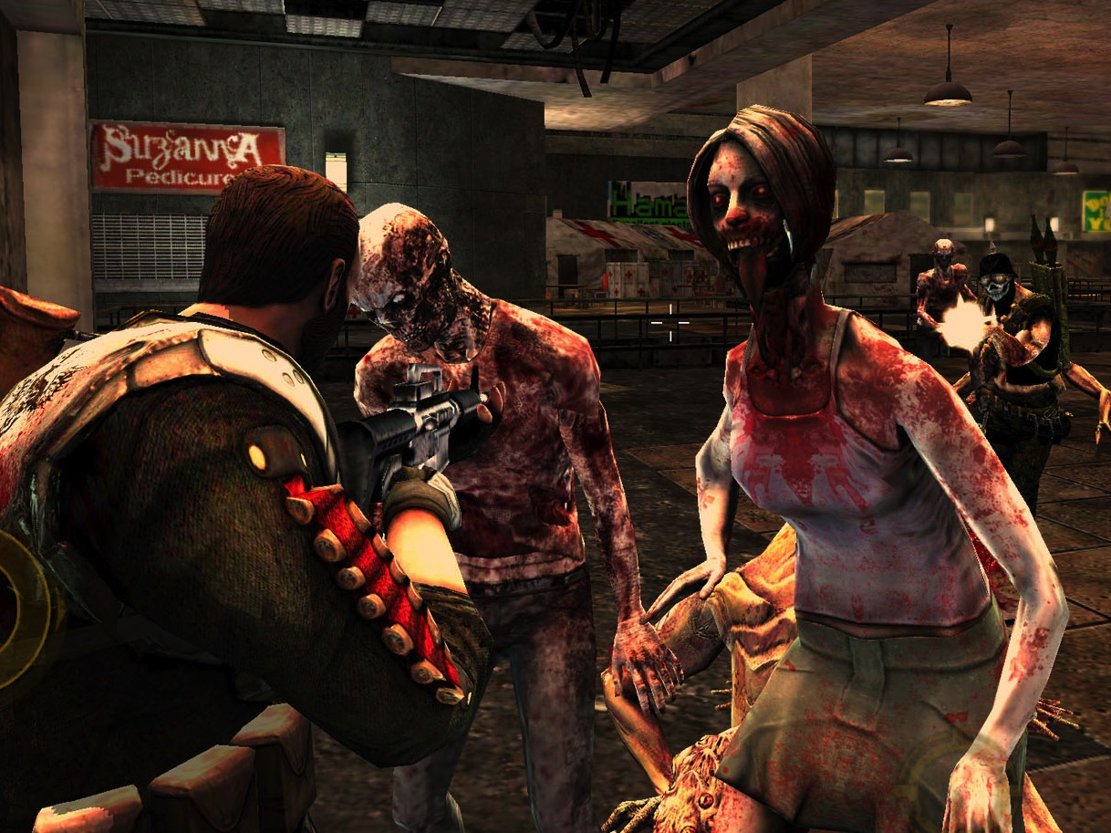 Zombie shooter flash games