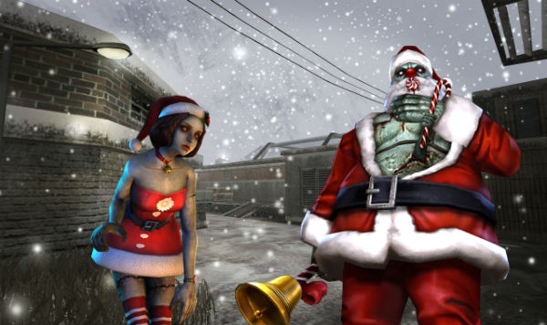 Christmas Zombie Santa.Christmas Zombie Pack Models Only Addon Counter Strike