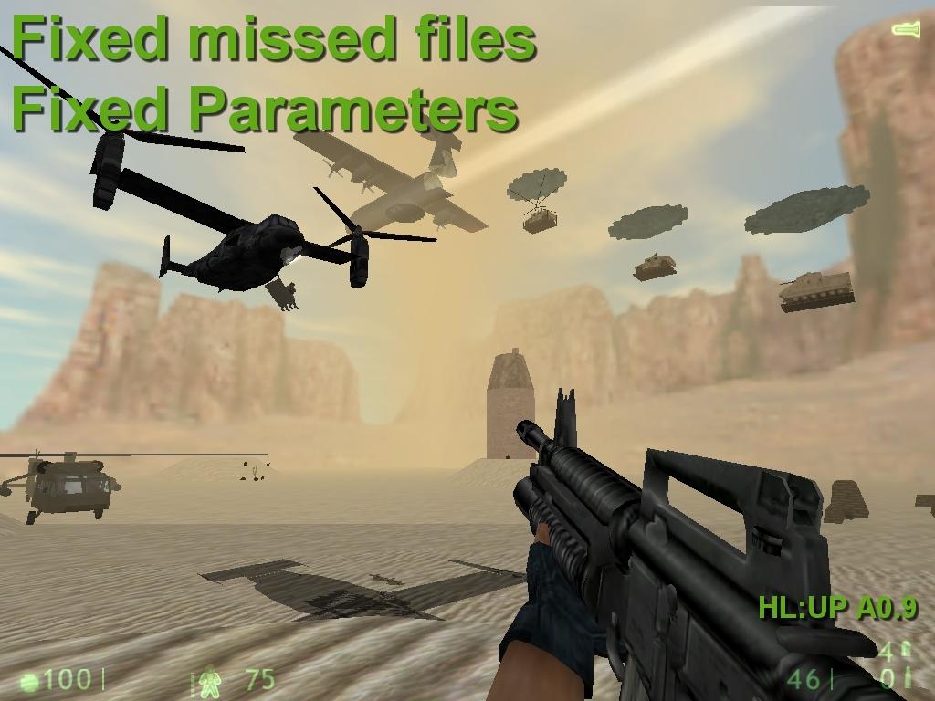 Half Life : UP A 0 9 Fixed Demo file - Half-Life