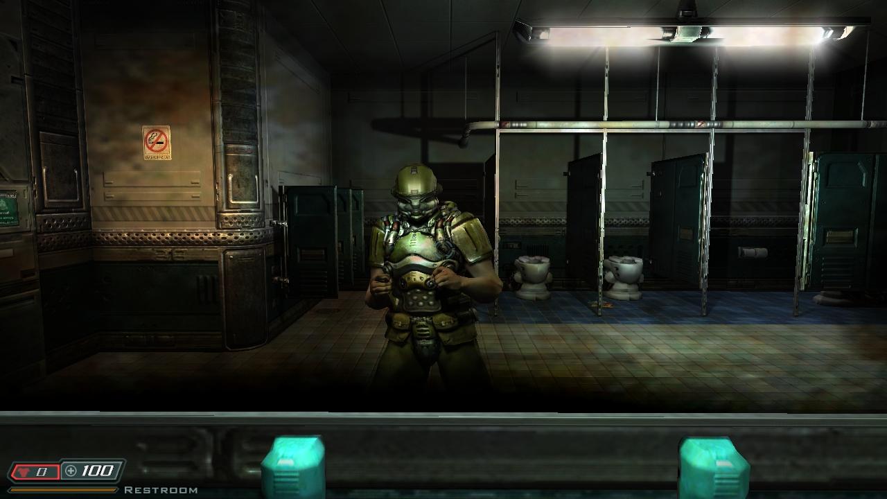 Arl helmet mod bfg mod for Doom 3 bfg Hi Def addon - Mod DB