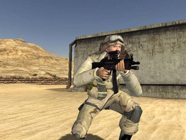 bf1942 desert combat