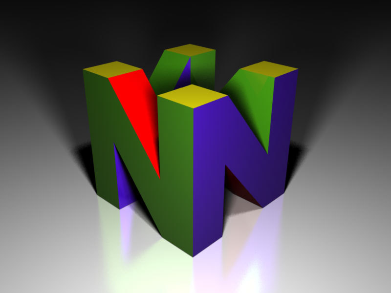n64 logo hd wallpaper - 800×600