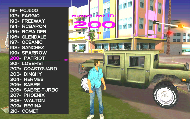 Gta Vice City Stories Cars List