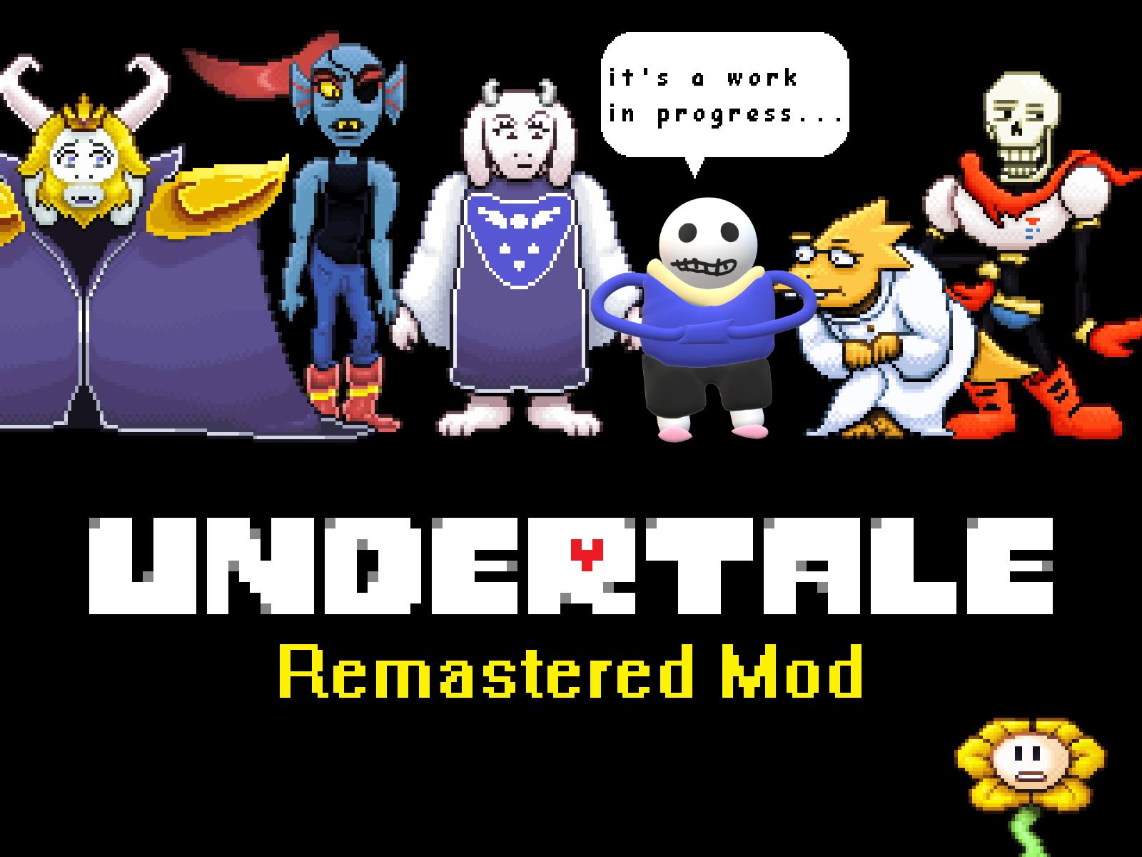 Undertale Remastered Mod V0 8 File Mod Db