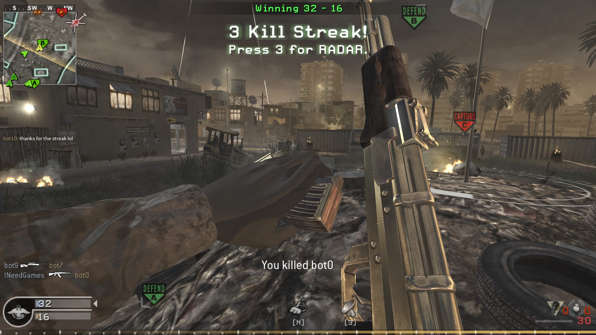 Call of duty 4 modern warfare multiplayer 17 patch download