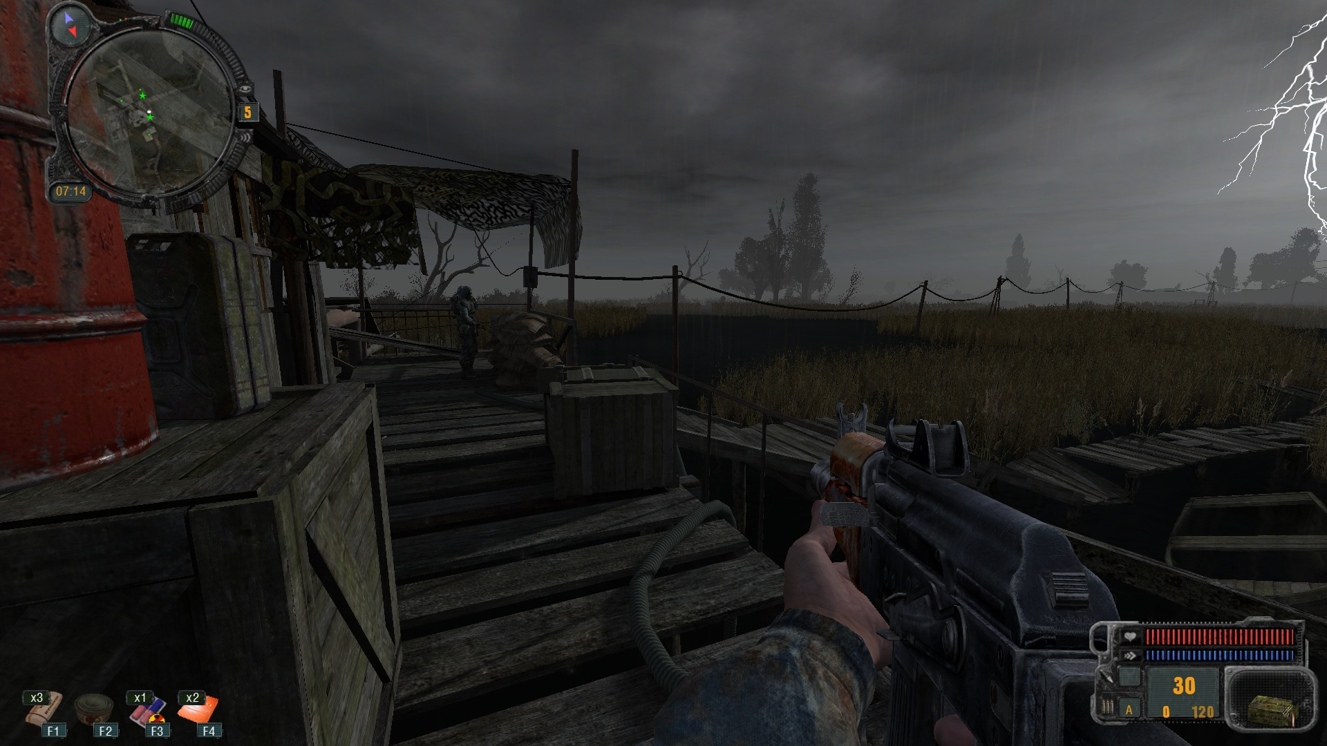 CoP HUD for CoC file - S T A L K E R : Call of Chernobyl mod