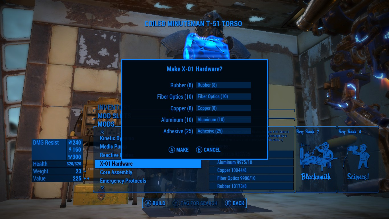 Fallout  Crafting Preview