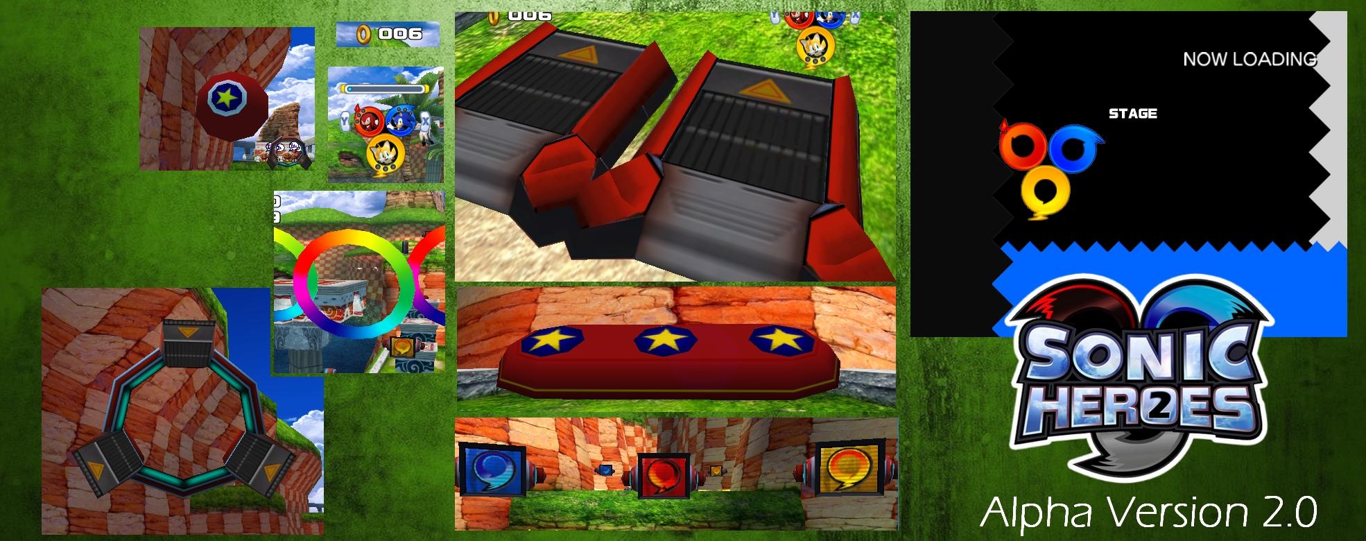 Sonic Heroes 2 - Alpha Version 2 0 addon - Mod DB