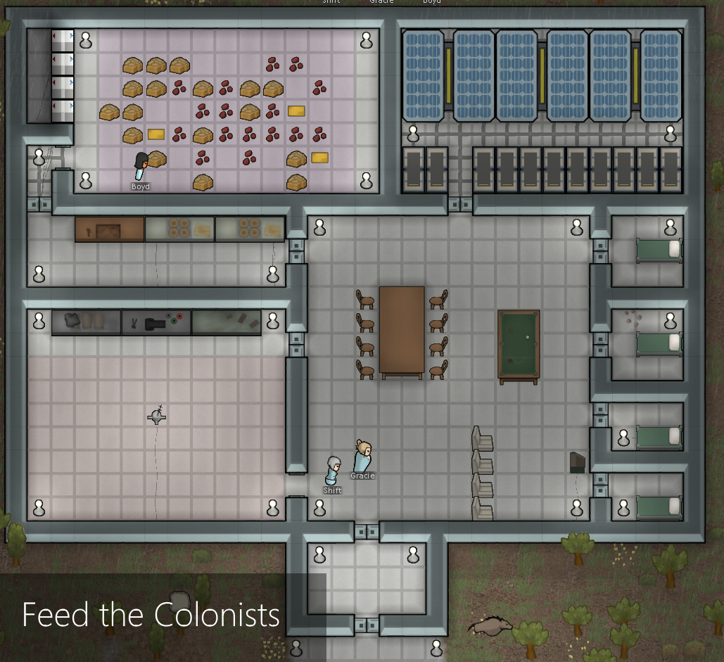 FeedTheColonists A17 file - Mod DB