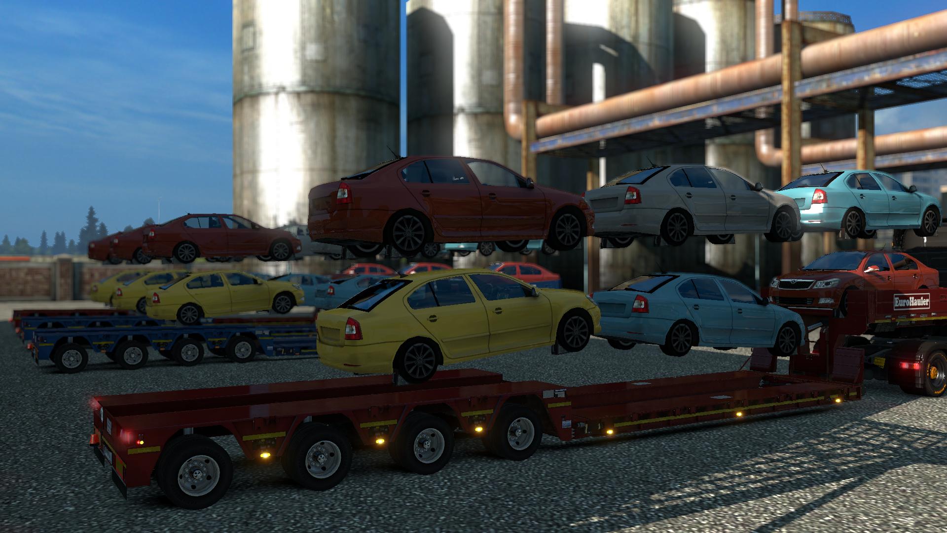 Goldhofer Cars File Euro Truck Simulator 2 Multiplayer Mod For