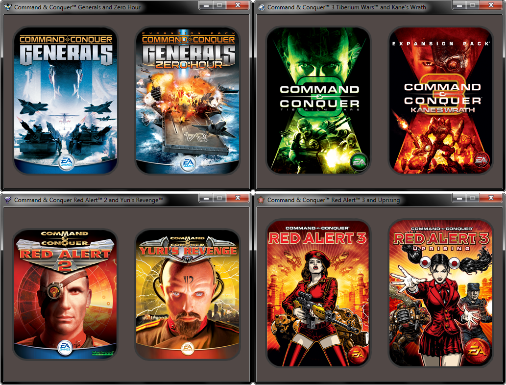Command And Conquer Ultimate Collection: Command & Conquer Ultimate Collection Launchers File