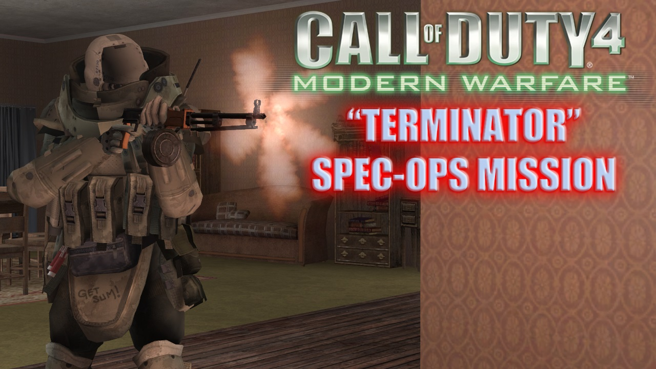 Terminator Special Ops Mission file - COD4: