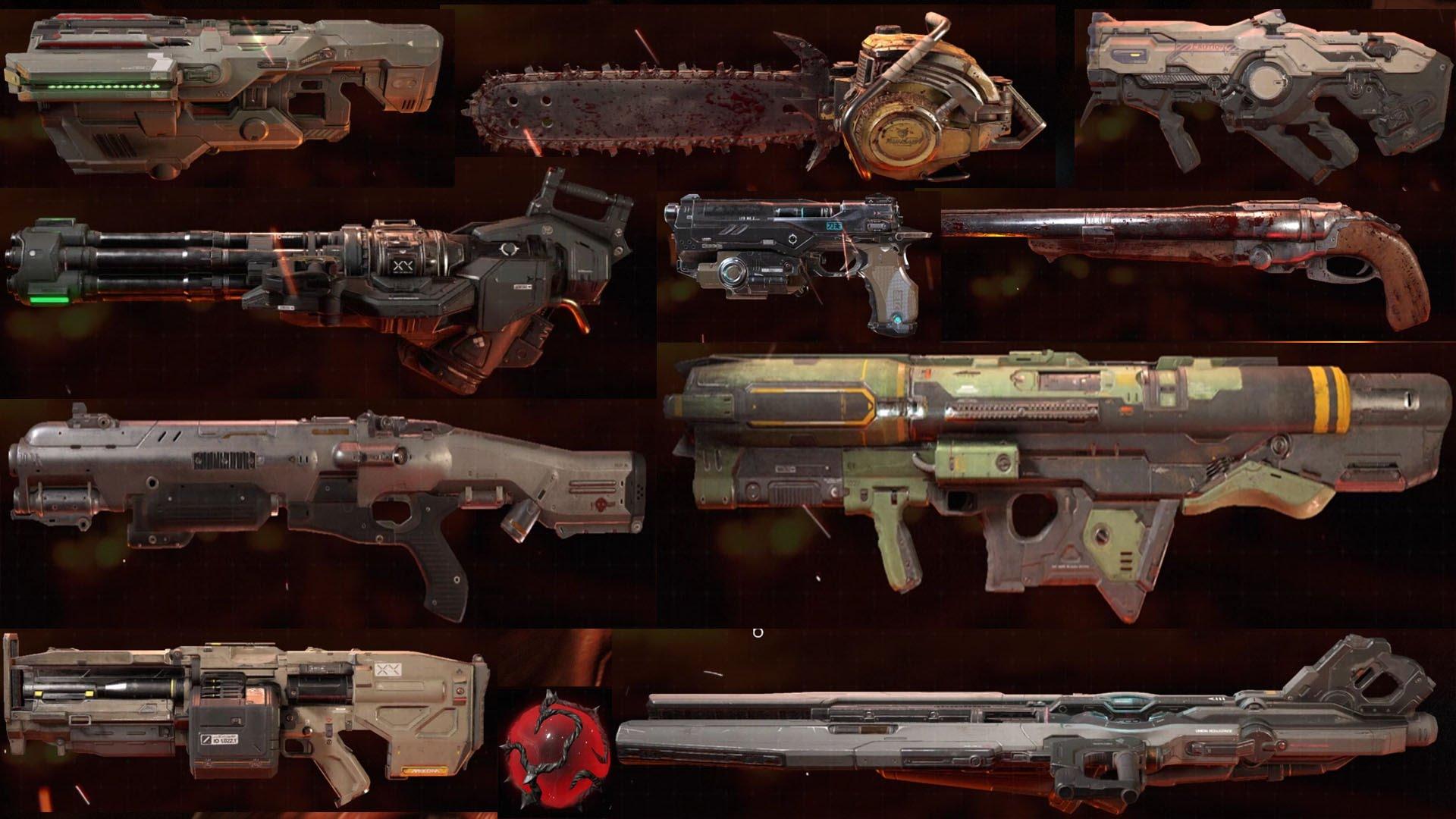 Doom 2016 Weapon Sprites By Epiclibo V2 Addon Mod Db
