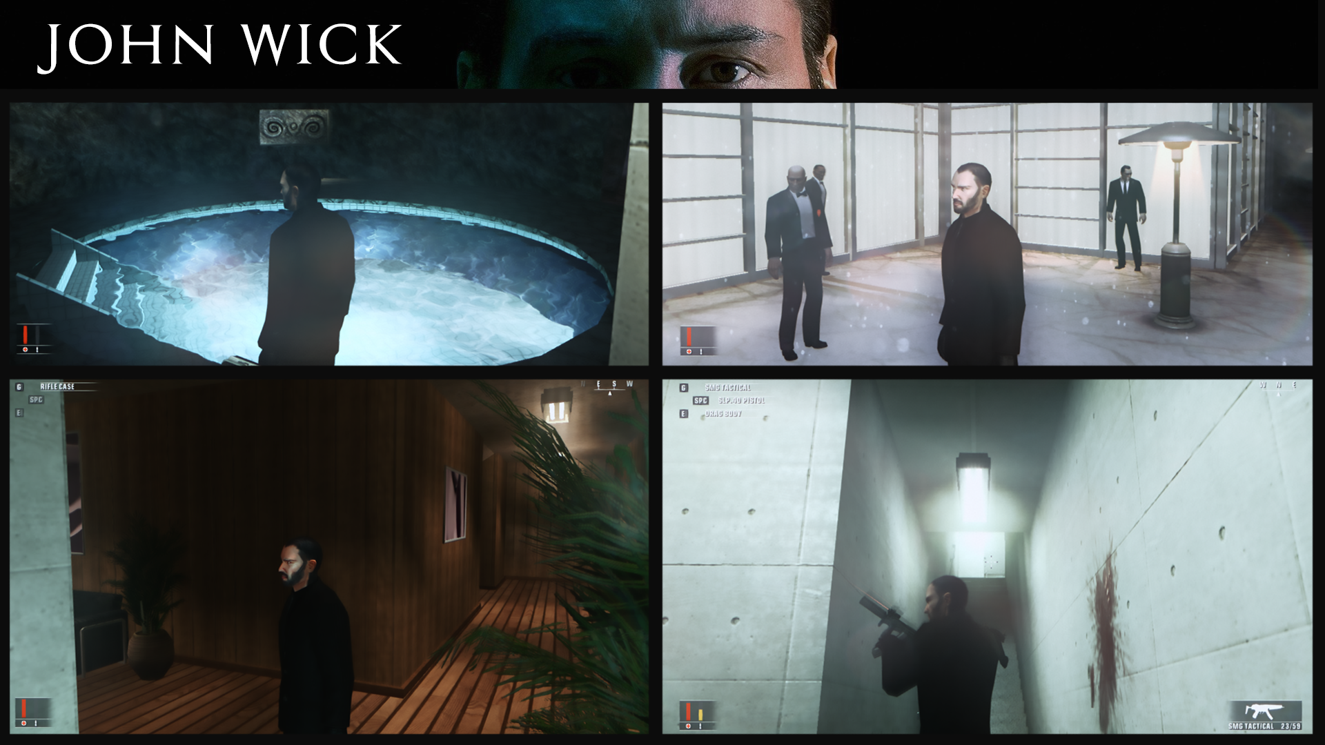 John Wick Skin For Hitman Blood Money Addon Mod Db
