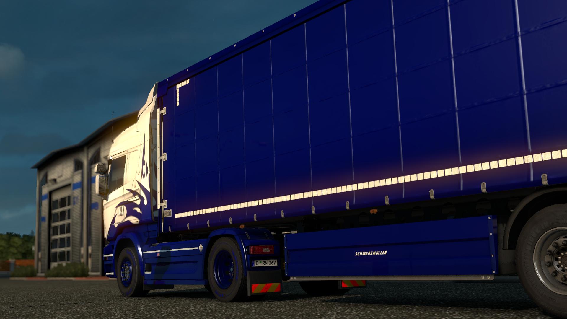 Schwarz Dark Blue file - Euro truck simulator 2 ...