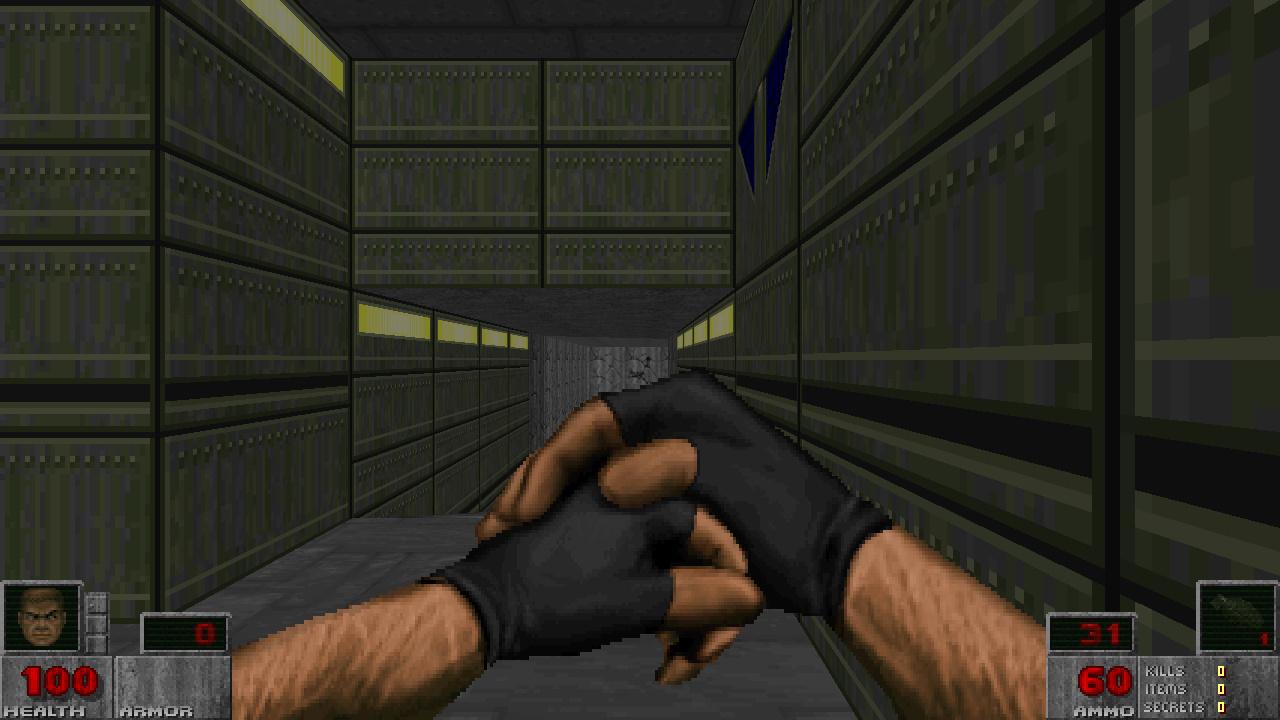 Weapons of Saturn HUD by Graubner addon - Brutal Doom mod for Doom