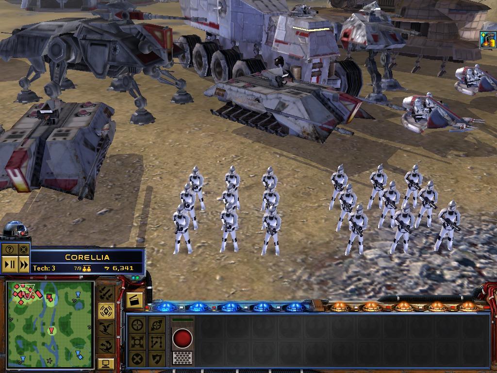 скачать мод Star War Republic At War - фото 7
