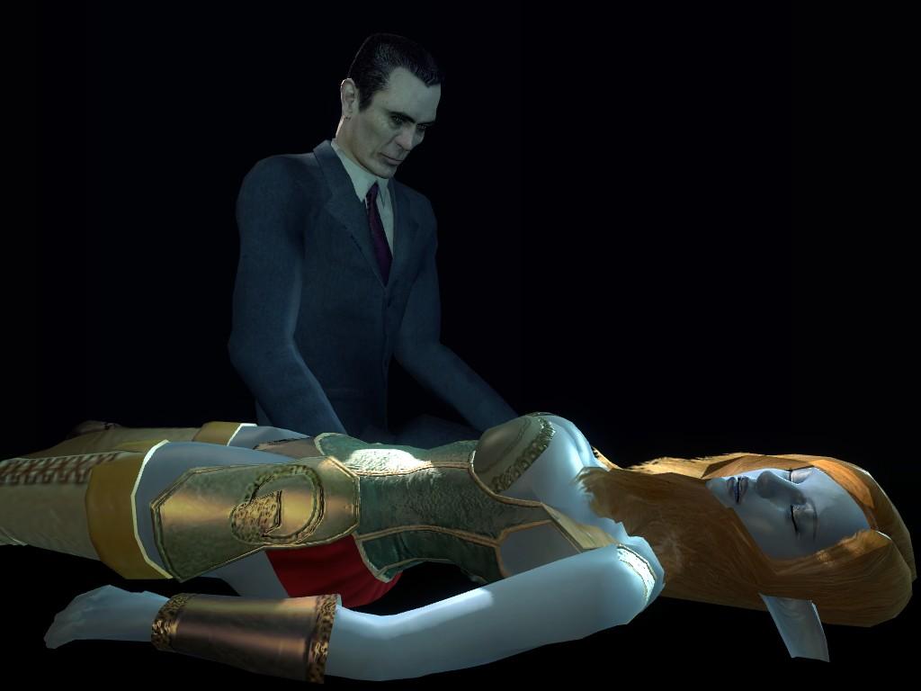 Скриншоты half-life 2
