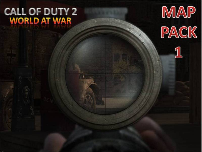 Map Pack #1 for CoD 2 World at War mod file - Mod DB