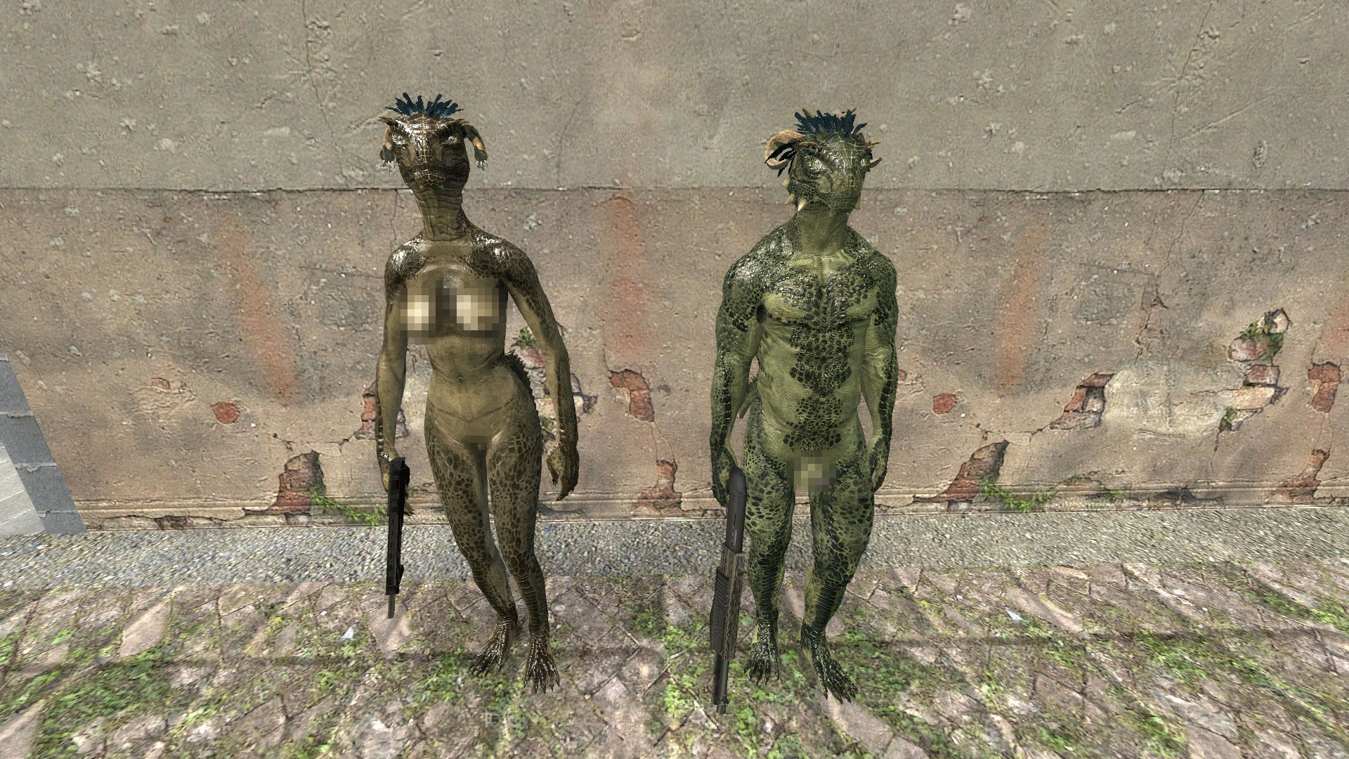 Nude Argonian Player Models/NPCs addon - Garrys Mod for Half-Life 2
