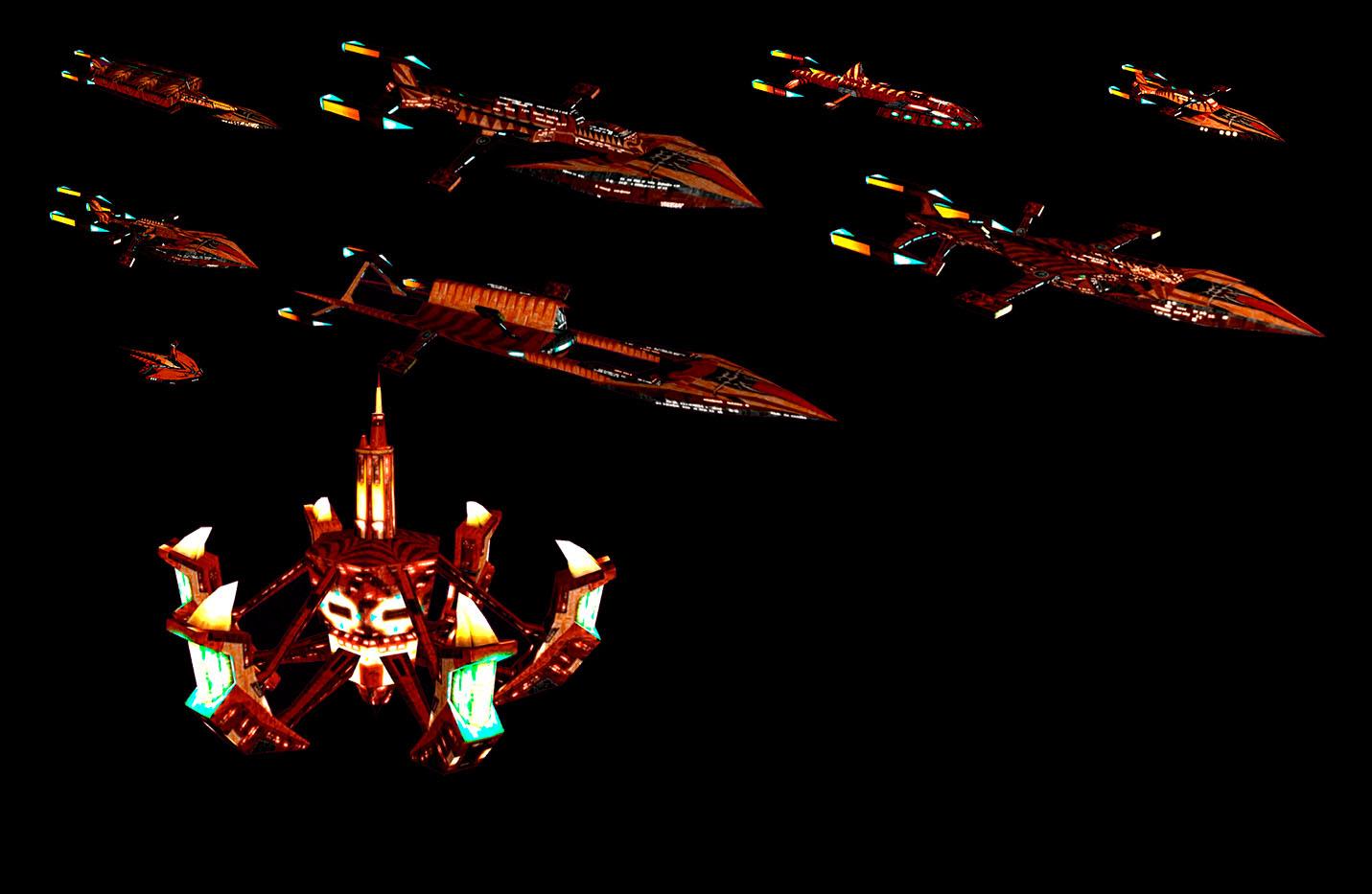 Polaris Sector Star Trek ships - Slitherine