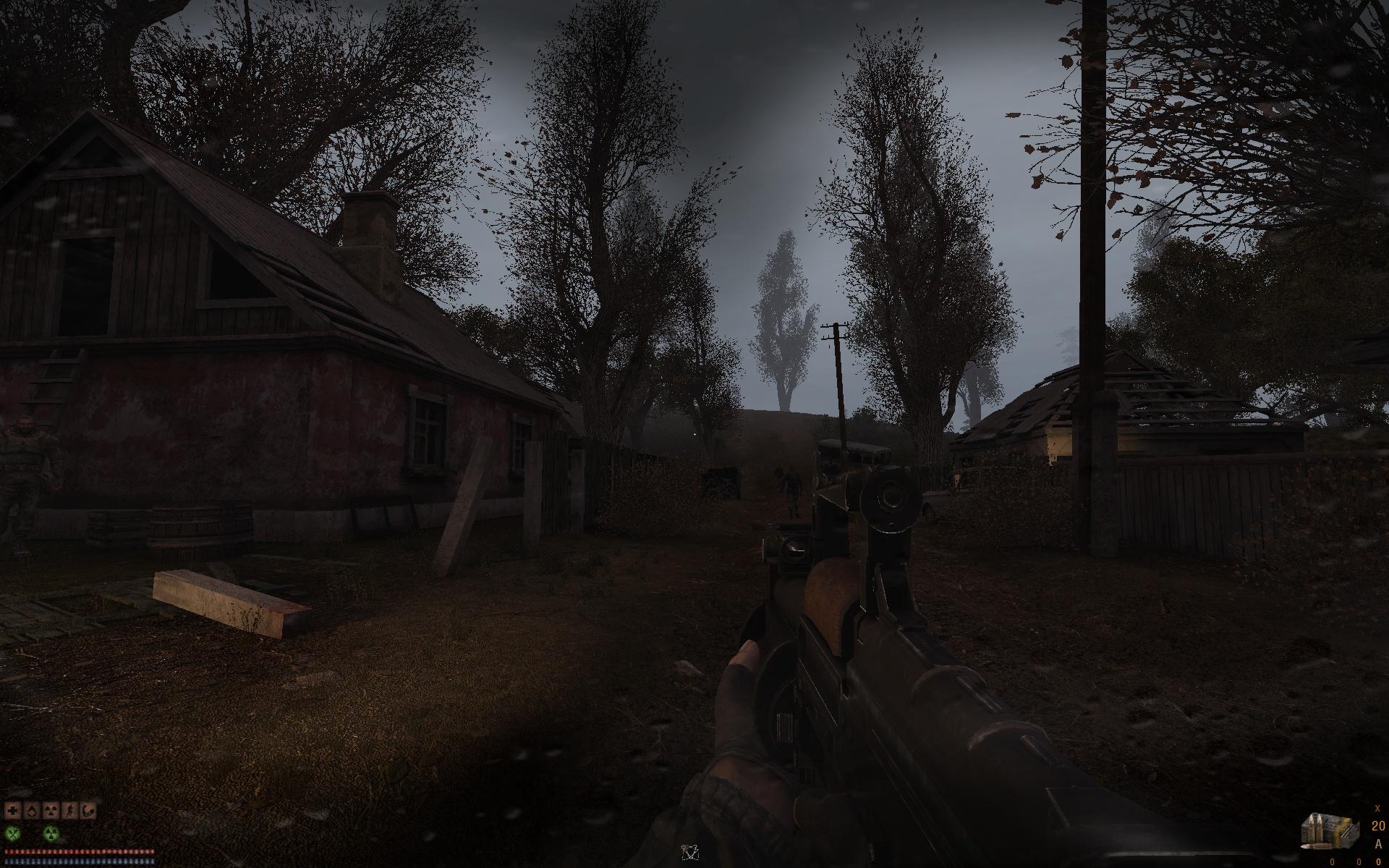 cHUD 1 2 addon - S T A L K E R : Call of Chernobyl mod for