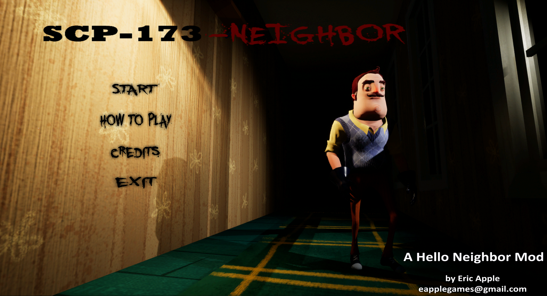 Hello SCP-173-Neighbor V0 1 file - Mod DB