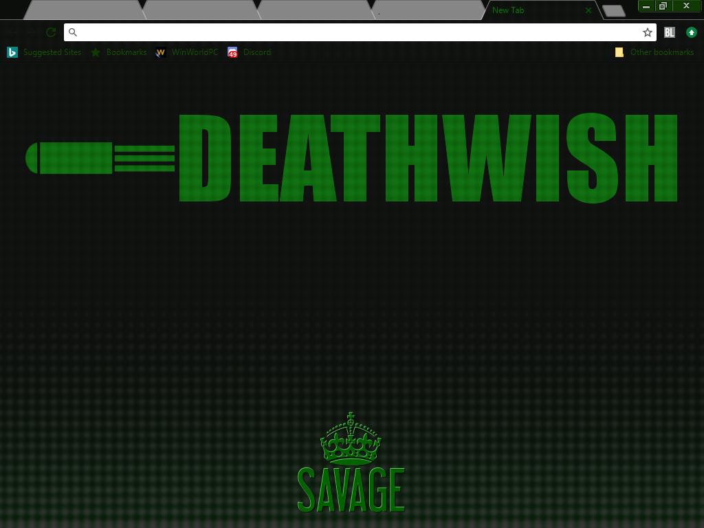 Deathwish Chrome Theme file - Mod DB