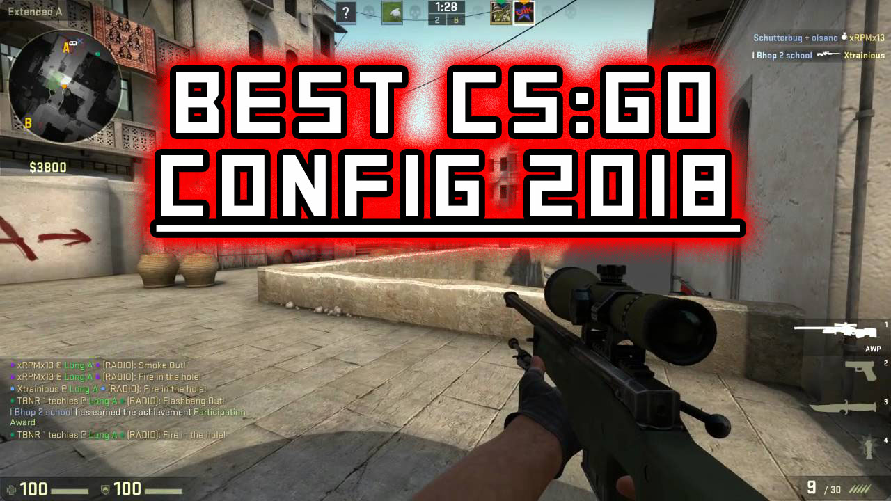 CS:GO console commands, launch options, and configs
