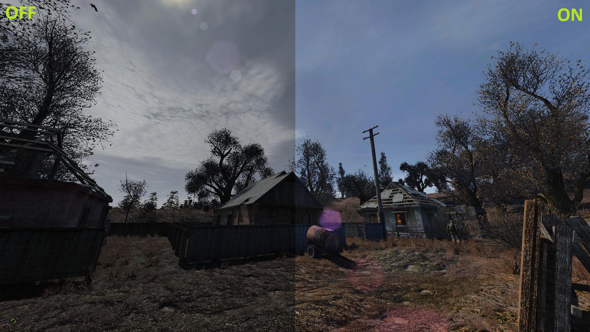Ultra Realistic reShade addon - S T A L K E R : CoM mod for