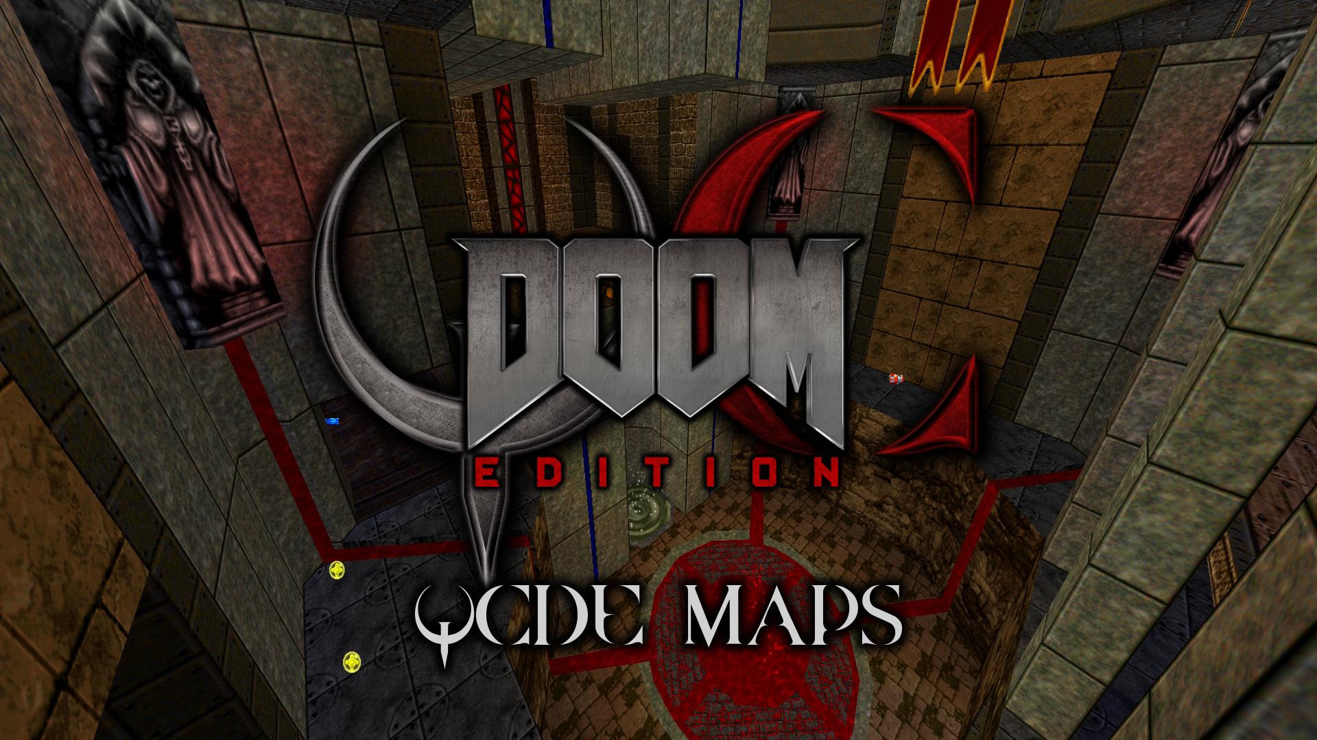 QCDE Maps v2 5 (Deathmatch Mapset) file - QC: Doom Edition mod for