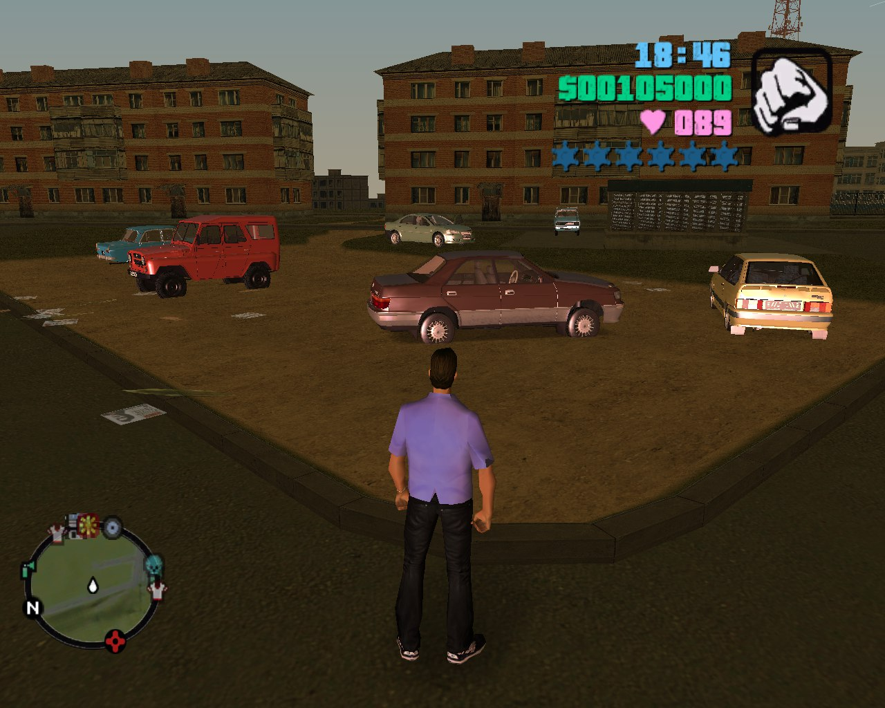 Patch 1 01 from GTA VC CR version 2 file - GTA Vice City