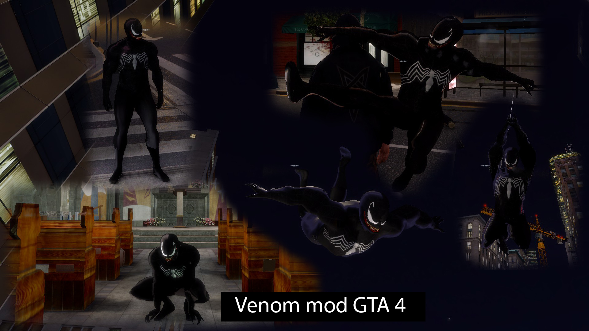 venom from spider-man 3 for gta 4 addon - mod db